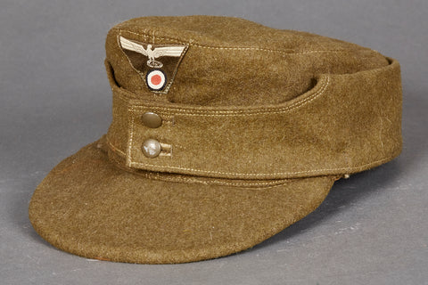 German WWII Organization Todt Enlisted Man's M-43 Cap