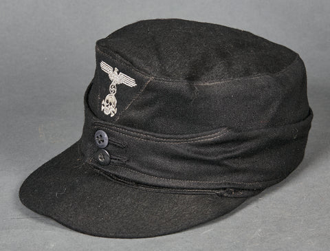 WWII German Waffen SS Panzer Model 1943 Field Cap