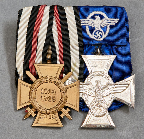 WWII Two Medal Bar