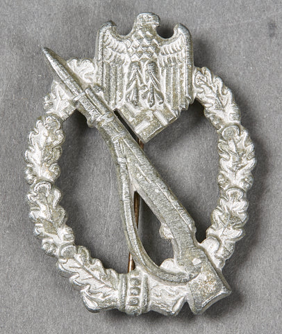 WWII German Infantry Assault Badge in Silver by GWL