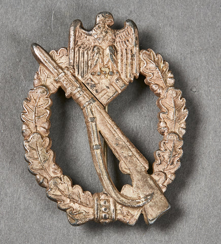 WWII German Infantry Assault Badge in Silver by R.S.S.