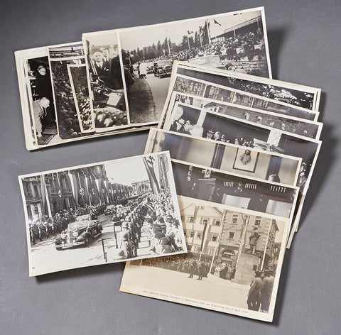 Set of WWII Photographs All Related to the Mercedes Benz