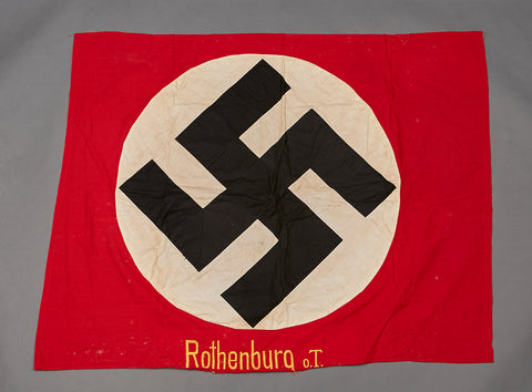 Third Reich Party Flag for Rothenburg