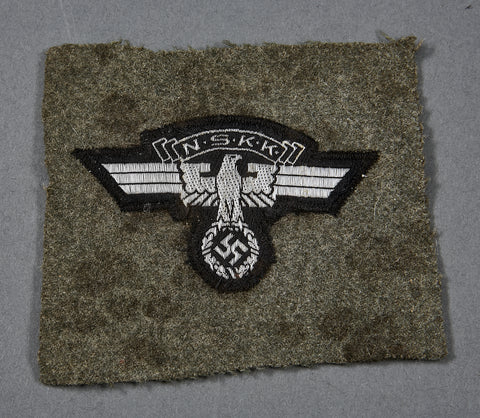"Third Reich ""Cut Off"" NSKK Sleeve Eagle"