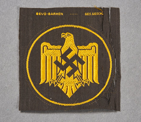 German WWII NAZI Sports Association Shirt Insignia