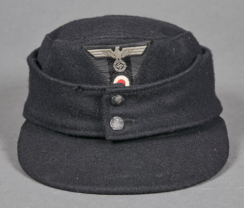 Rare WWII German Army Panzer Model 1943 Cap