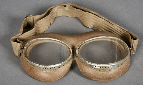 German WWII Pilot's Goggles