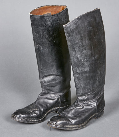 German WWII Officer's Boots for Police