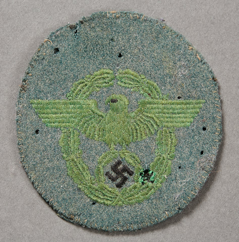 German WWII Police Officer's Sleeve Insignia