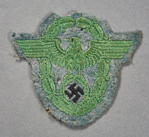 German WWII Police Sleeve Insignia