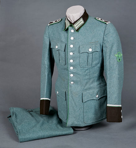 Third Reich Schutzpolizei NCO Service Tunic and Trousers