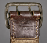 Third Reich Political Double Open Claw Buckle