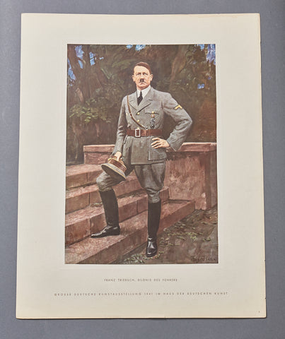 Large Portrait Print from Third Reich Portfolio