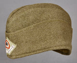 German WWII RAD Side Cap