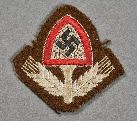 RAD Cap Insignia, Cap Removed