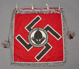 Third Reich German RAD Trumpet Banner