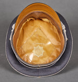 Choice German WWII RLB Officer's Visor Cap