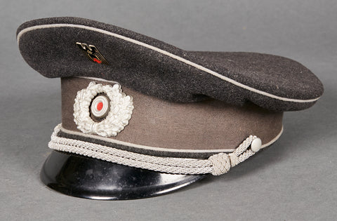 Third Reich Red Cross Official Visor Cap