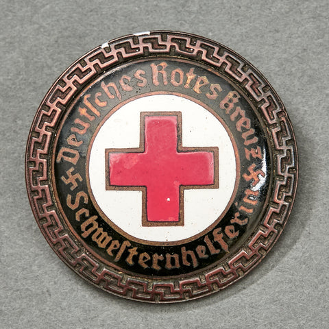 German Red Cross Senior Helpers Service Brooch