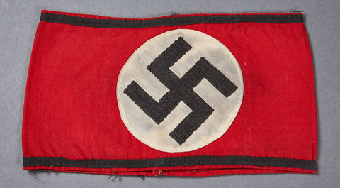 German WWII Cloth SS Armband