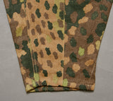 WWII German SS Model 1944 Dot Pattern Camo Combat Trousers