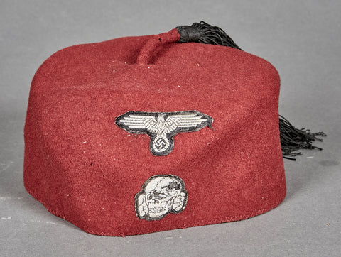 WWII German Second Model SS Fez