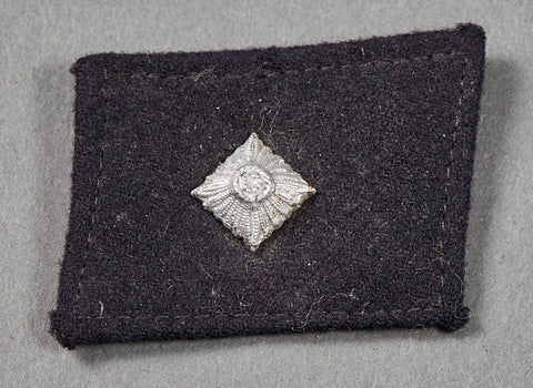WWII German SS Rank Collar Tab