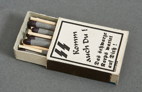 German WWII SS Marked Matchbox