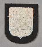 "Sleeve Shield for Dutch Assigned to 23rd SS Freiwilligen Panzer Grenadier Division ""Nederland"""