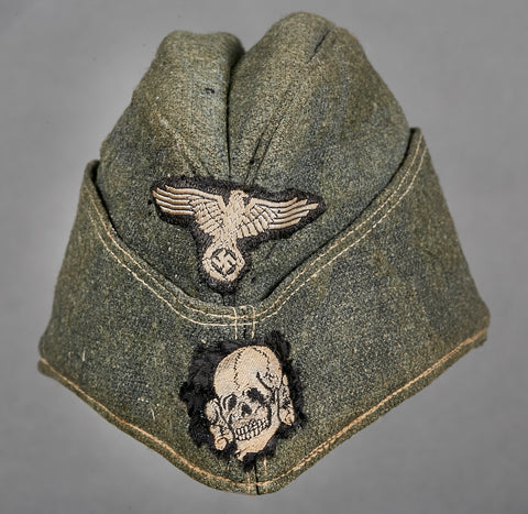 WWII German SS Other Ranks Side Cap