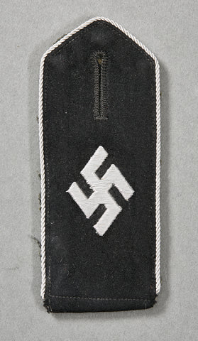 German WWII SCHUMA Officer's Slip On Shoulder Board