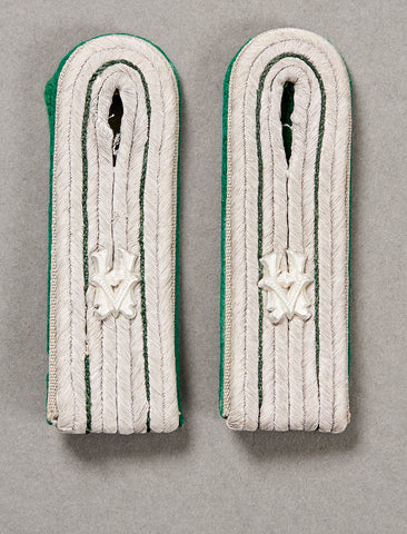 German WWII Army Administrator's Shoulder Boards