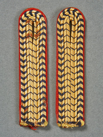 German Fireman's Enlisted Man's Set of Shoulder Boards