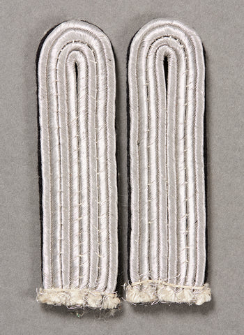 German WWII Army Pioneer Officer's Shoulder Boards
