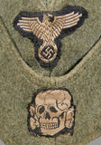 "WWII German SS Side Cap for ""Other Ranks"" Personnel, Vet Family Acquired"