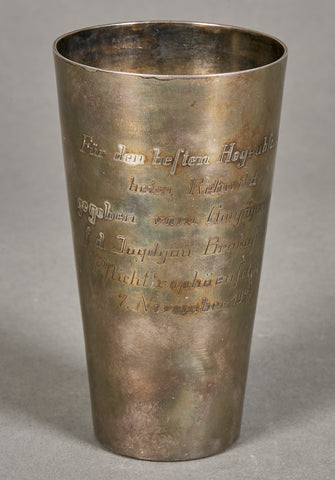 Shooting Competition Silver Goblet from the Tim Calvert Collection