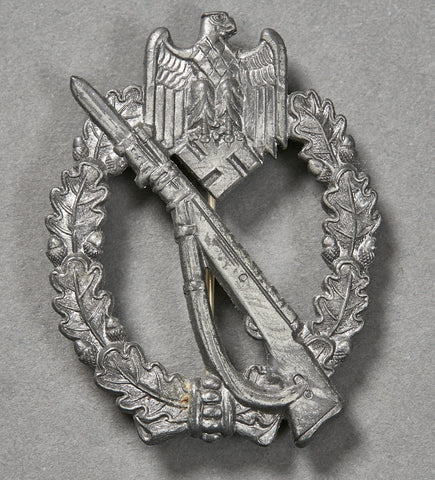 German WWII Silver Infantry Assault Badge