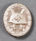 WWII German Silver Wound Badge, Boxed and Marked 65
