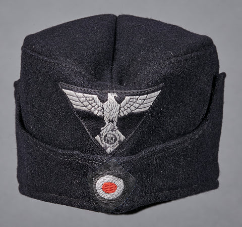 German WWII TeNo Subordinate Officials Side Cap
