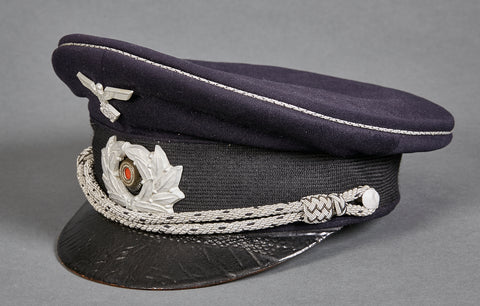 TeNo Lower Ranked District or Staff Officer's Visor Cap