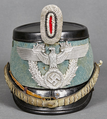 WWII German Tschako for Municipal Police Officer