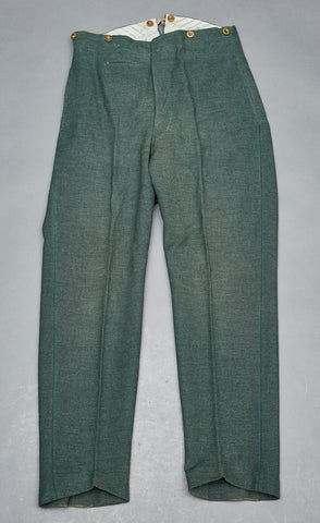 WWII German Land Customs Trousers