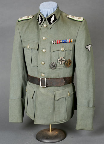 WWII German Waffen SS Standartenführer Dress Jacket