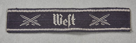 "NS-Reichskriegerbund ""West"" Cufftitle"