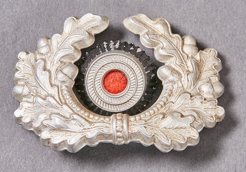 German WWII Army Wreath and Cockade for Visor Cap
