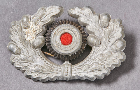 German Army WWII Wreath and Cockade for a Visor Cap