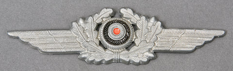 German WWII Luftwaffe Wreath and Cockade for Visor Cap