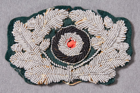 German Army WWII Officer's Wreath and Cockade