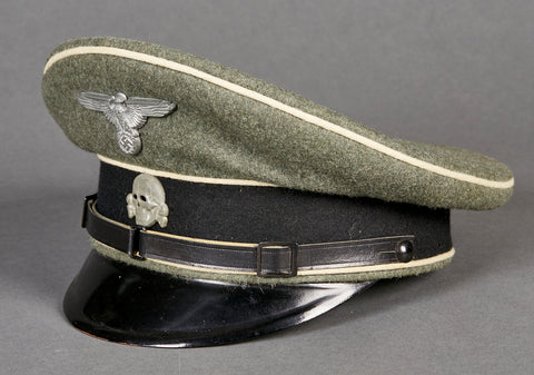 German Waffen SS Other Ranks Visor Cap