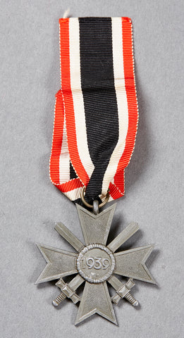 WWII German War Merit Cross 2nd Class w/Swords